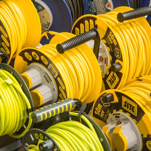 Extension Leads, Reels & Connectors