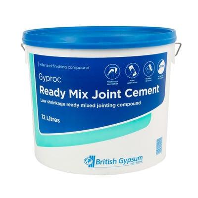 British Gypsum Gyproc Ready Mix Joint Cement 12L