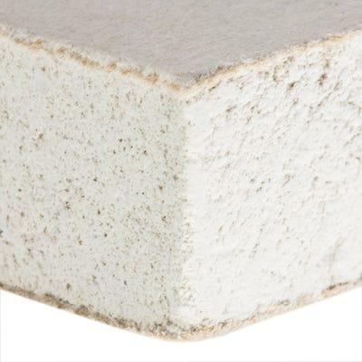 12.5mm British Gypsum Gyproc WallBoard Plasterboard Square Edge 1800mm x 900mm (6' x 3')