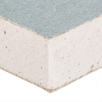 12.5mm British Gypsum Gyproc Moisture Resistant Plasterboard Tapered 3000mm x 1200mm (10' x 4')