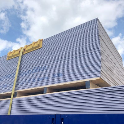 12.5mm British Gypsum Gyproc SoundBloc Plasterboard Tapered Edge 2400mm x 1200mm (8' x 4')