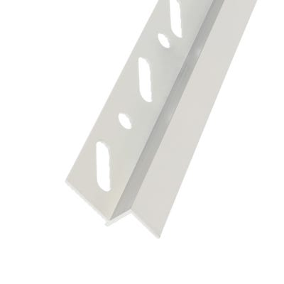 12.5mm Aluminium AA-R12 Reveal Trim White 3000mm