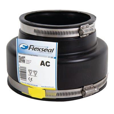Flexseal 110mm - 122mm / 60mm - 68mm Flexible Adaptor Coupling
