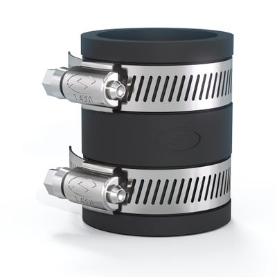Flexseal 104mm - 111mm / 76mm - 85mm Flexible PVC Coupling