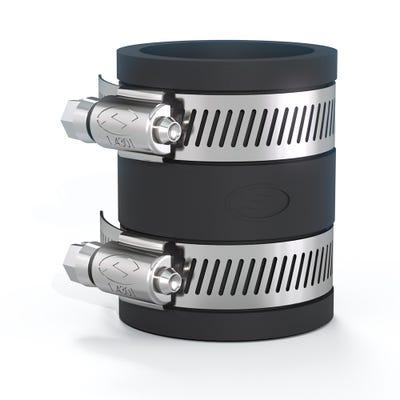 Flexseal 50mm - 58mm Flexible Straight Coupling
