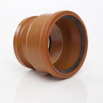 100mm Polypipe Clay Socket to PVC Socket Adaptor UG486