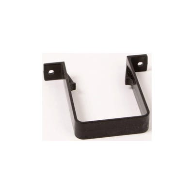 65mm Polypipe Square Downpipe Bracket Black RS226B