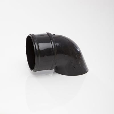 68mm Polypipe Round Downpipe Shoe Black RR128B