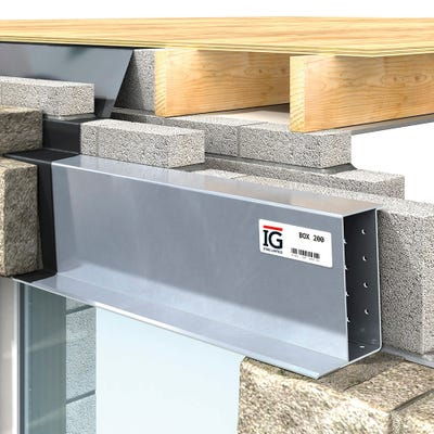 IG Standard Box 200 Steel Lintel 3000mm