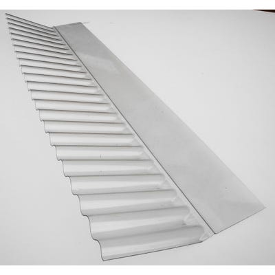 Corrugated Wall Flashing For Corrugated PVC Roof Sheets Clear