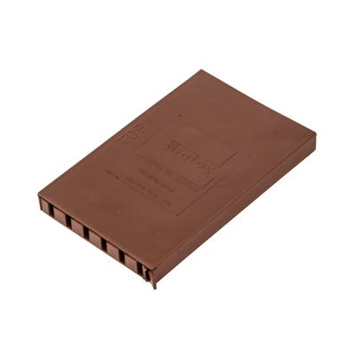 10mm x 65mm Cavity Wall Weep Vent Brown