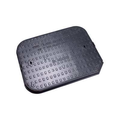600mm x 450mm Clark-Drain B125 Iron Solid Top Manhole Cover & Frame