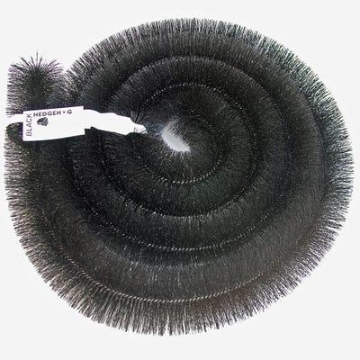 100mm Hedgehog Gutter Brush Black 4000mm