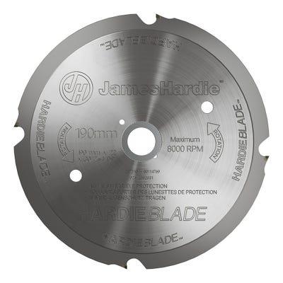 190mm Hardie Backer HardieBlade Saw Blade
