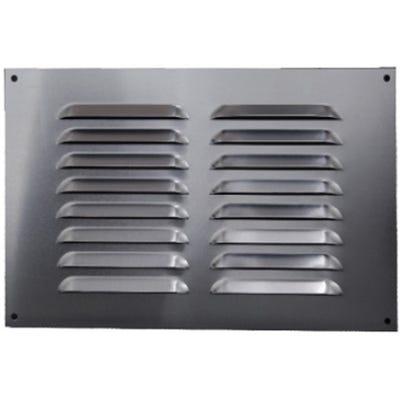 Aluminium Fixed Louvre Ventilators 150mm x 225mm