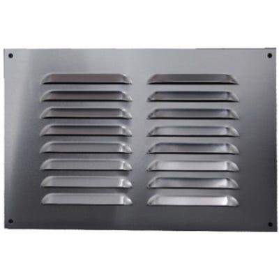 Aluminium Fixed Louvre Ventilators 225mm x 225mm