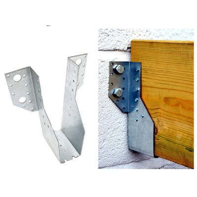 47mm x 229mm Speed Pro Multi Functional Face Fix Joist Hanger Galvanised