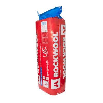 100mm Rockwool Thermal Insulation Cavity Batt 1200mm x 455mm (3.28m²)