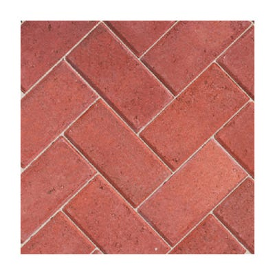 Bradstone 200mm x 100mm x 50mm CBP Driveway Block Paving Red