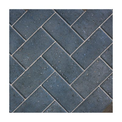 Bradstone 200mm x 100mm x 50mm CBP Driveway Block Paving Charcoal