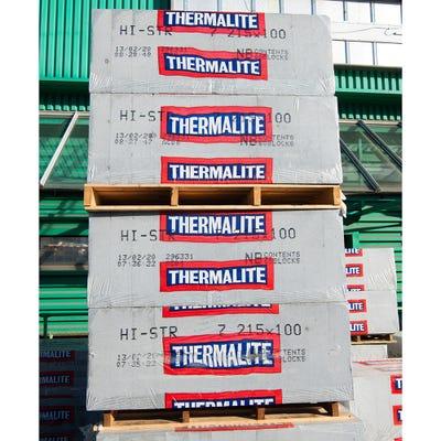 100mm Thermalite Hi-Strength Aircrete Block 7N 215mm x 440mm