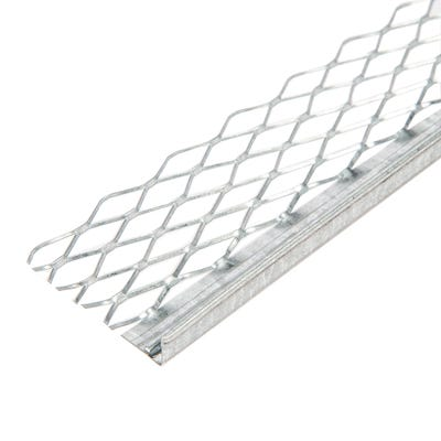10mm Speed Pro Plaster Stop Bead Galvanised 2400mm (562) Pack of 50