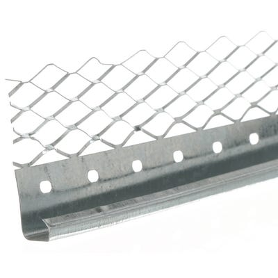 19mm Speed Pro External Plaster Stop Bead Galvanised 3000mm (566) Pack of 50