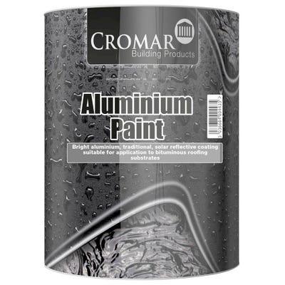 Cromar Solar Reflective Aluminium Paint 5L