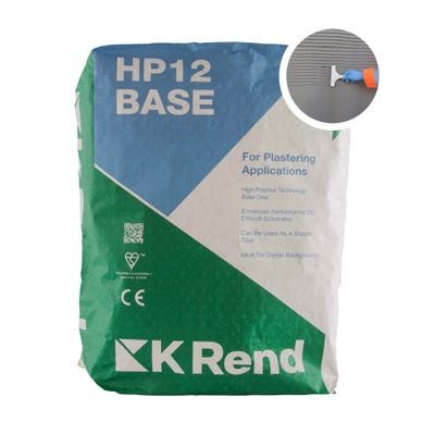 K Rend HP12 Base Render Coat 25Kg Pallet of 40