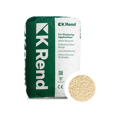 K Rend Silicone FT Textured York Render Coat 25Kg Pallet of 40