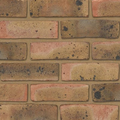 Ibstock Coleridge Yellow Multi Stock Facing Brick Pack of 500