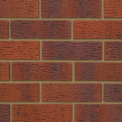 Ibstock Tradesman Claygate Red Multi Wirecut Facing Brick Pack of 400