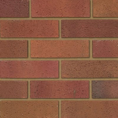 Ibstock Tradesman Sandfaced Red Multi Wirecut Facing Brick Pack of 400