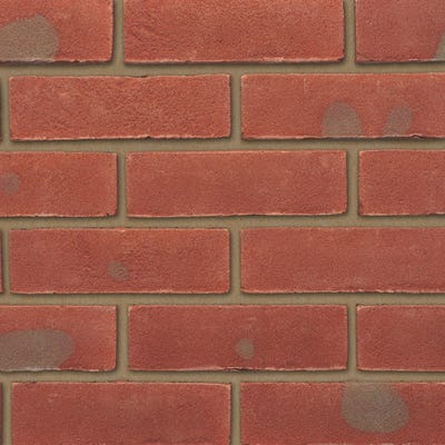 Ibstock Leicester Multi Red Stock Facing Brick Pack of 500