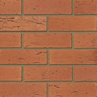 Ibstock Surrey County Red Wirecut Facing Brick Pack of 500