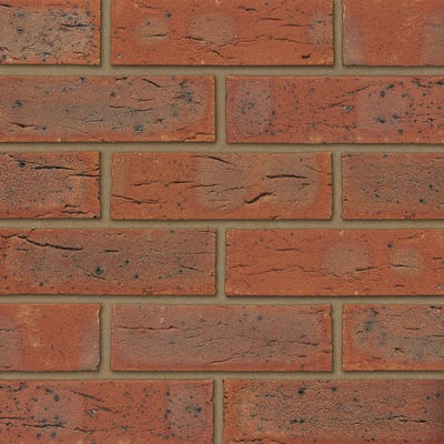 Ibstock Surrey Red Multi Wirecut Facing Brick Pack of 500