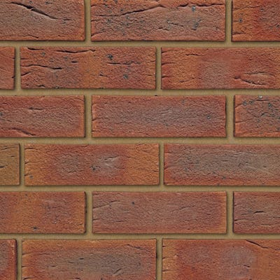 Ibstock Surrey Russet Wirecut Facing Brick Pack of 500