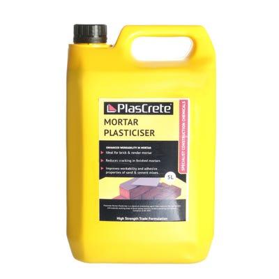 PlasCrete Liquid Mortar Plasticiser 5L