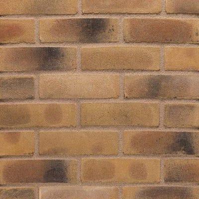 Wienerberger Smoked Yellow Gilt Stock Facing Brick Pack of 500