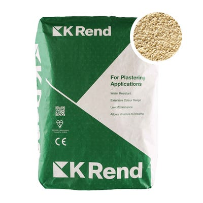 K Rend Silicone K1 Stone Scraped Render Coat 25Kg Pallet of 40