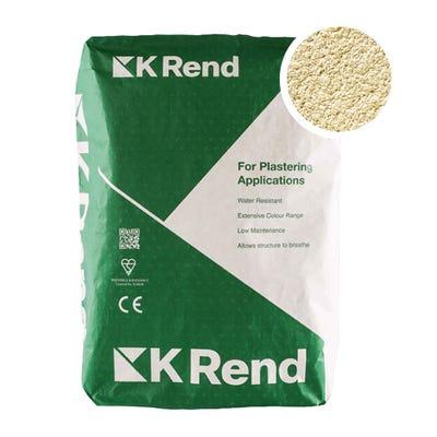 K Rend Silicone K1 York Scraped Render Coat 25Kg Pallet of 40