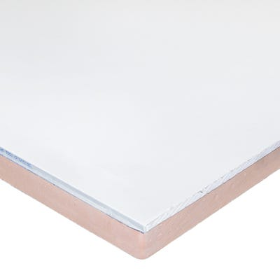 52.5mm Kingspan Kooltherm K118 Insulated Plasterboard 2400mm x 1200mm (8' x 4')