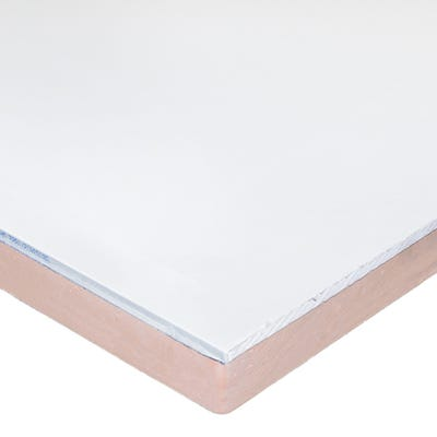 62.5mm Kingspan Kooltherm K118 Insulated Plasterboard 2400mm x 1200mm (8' x 4')