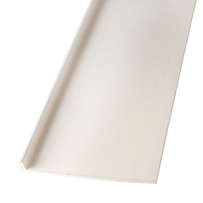 9mm x 225mm Primacell uPVC Fascia Board Single Leg 5000mm White