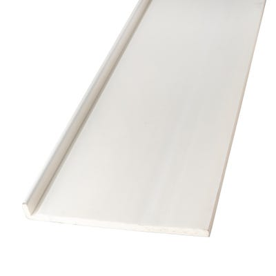 16mm x 300mm Primacell uPVC Fascia Board Single Leg 5000mm White