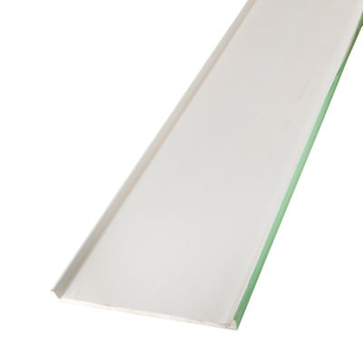 16mm x 405mm Primacell uPVC Fascia Board Double Leg 5000mm White