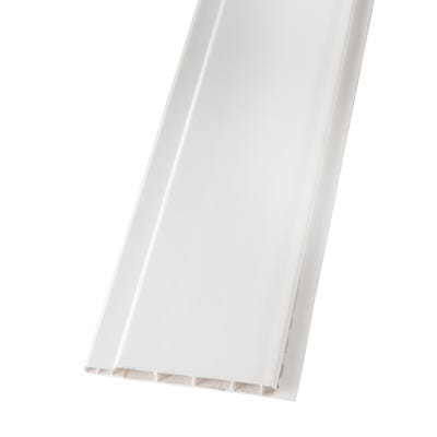 9mm x 100mm Primacell uPVC Hollow Soffit Board 5000mm White