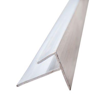 Primacell uPVC Starter Trim For Shiplap Cladding 5000mm White