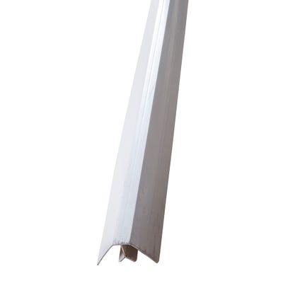 Primacell uPVC Internal Corner For Shiplap Cladding 5000mm White