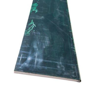 9mm x 225mm Primacell uPVC Soffit Board Single Round Edge 5000mm Black